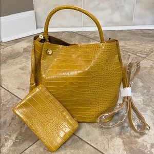Who What Wear Faux Leather Bag
